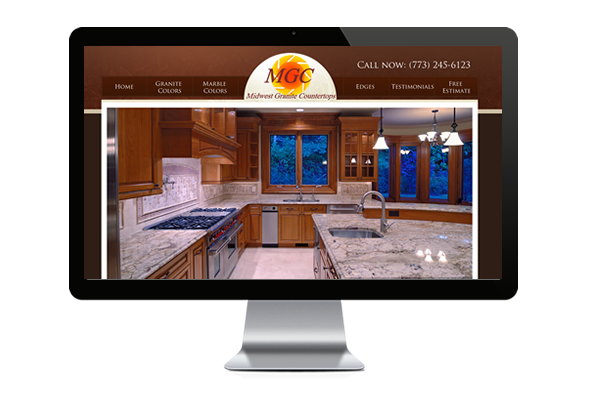 Granite and marble web design
